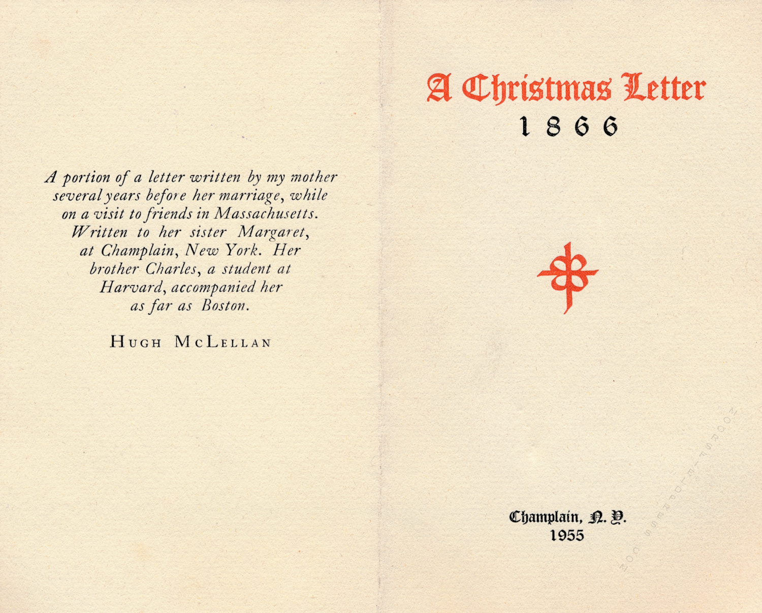1955 moorsfield press christmas cards